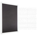 Black Felt Letter Board With White Letters - 15 3/4
